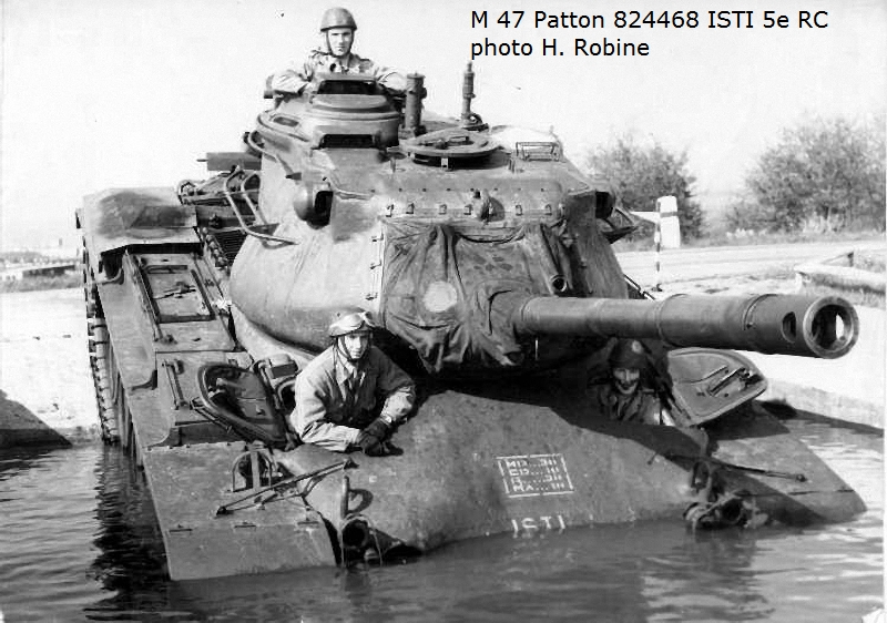 French M47 Patton tank questions - Missing-Lynx