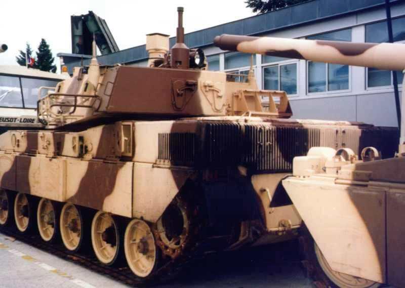 1983 amx 40 for L interieur du char de vimoutier